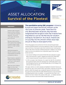 asset allocation research paper This research paper highlights some flaws in the conventional approach to asset allocation and explains why a more flexible approach is appropriate for many investors, particularly in the challenging investment environment expected to continue in coming years.