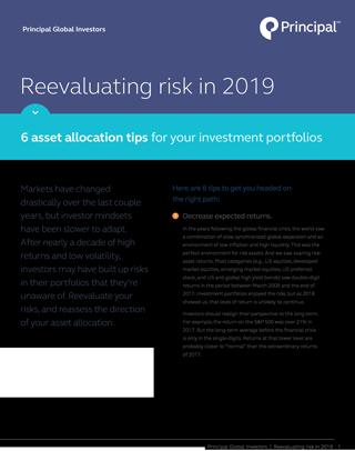 Asset allocation tips