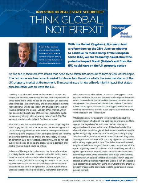 Think Global, Not Brexit thumbnail