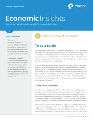 Economic Insights