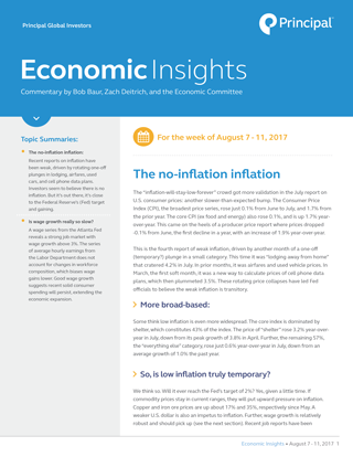 Economic Insights for August 7-11, 2017