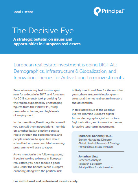 The Decisive Eye: A strategic bulletin on issues and opportunities in European real assets