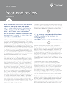 Document Thumbnail: Aligned Investors: 2017 year-end review