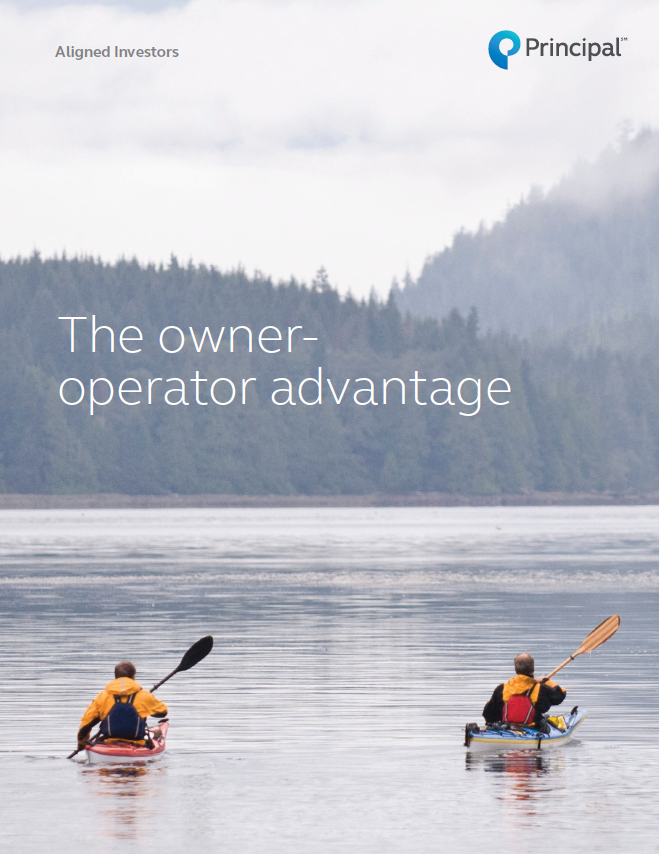 The Owner-Operator AdvantageThe owner-operator advantage