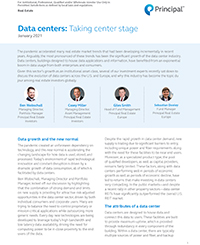 Thumb: Data centers: Taking center stage