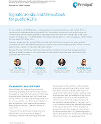 Thumb: Signals, trends, and the outlook for public REITs