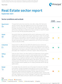 Thumb: Real Estate sector report: September 2021