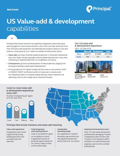 Thumb: U.S. Value-add and Development Capabilities