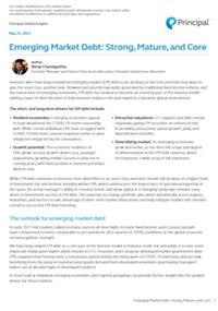 Emerging Market Debt: Strong, Mature, and Core thumbnail image