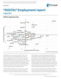 DIGITAL Employment report August 2021 thumbnail image