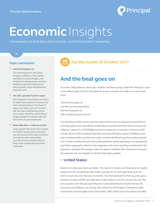 Insights for October