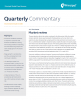 Principal Global Fixed Income's Investment Grade Credit team recaps the first quarter in their latest market commentary