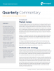 Principal Global Fixed Income GCSO Portfolio Managers provide quarterly market commentary