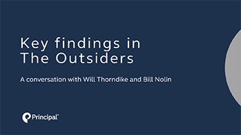 Key findings in The Outsiders