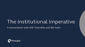 Will Thorndike describes the institutional imperative and what enabled these 8 CEOs to push against it